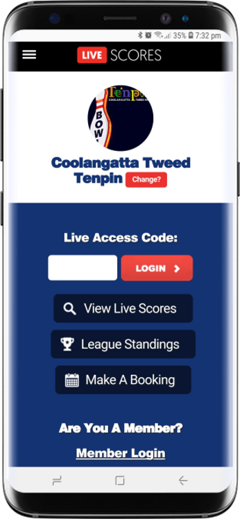 LiveScores is your online scoresheet